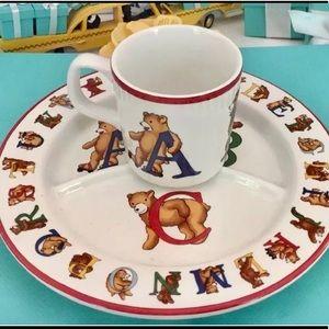 Tiffany & Co.Alphabet Bears Children's Dish Set